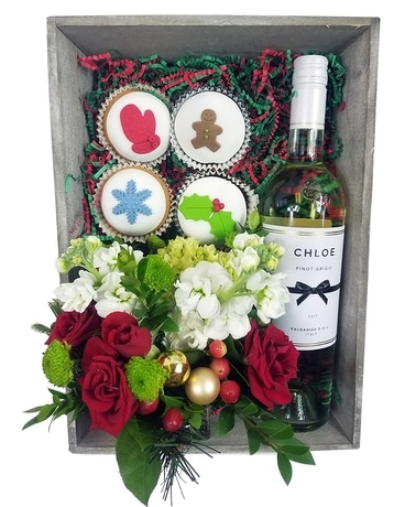 Christmas Romance Flower Arrangement