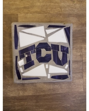 TCU Square Stepping Stone Gifts