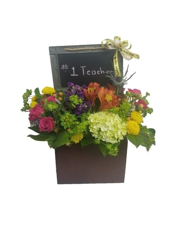 School Days Flower Arrangement