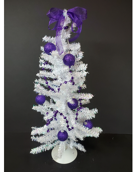 TCU Christmas Tree - 24 Gift Basket