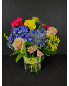 Bright Summer Mix Bouquet Flower Arrangement
