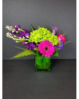Green Envy Flower Arrangement
