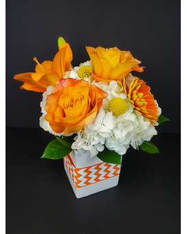 Honey Butter Flower Arrangement