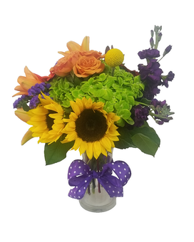 Carnival Flower Arrangement