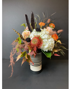 Unbeleafable Flower Arrangement