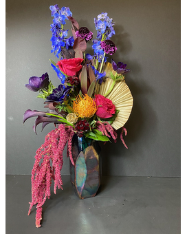 Patina Flower Arrangement