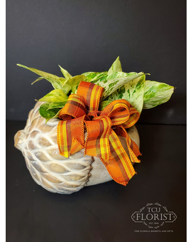 Going Nuts For Fall Flower Arrangement
