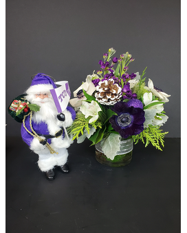 TCU Holiday Flower Arrangement