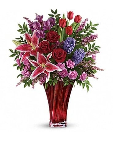One Of A Kind Love Bouquet by Teleflora Flower Arrangement