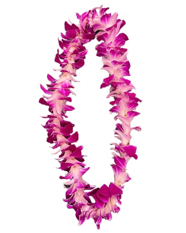 Orchid Leis (+ More Colors)