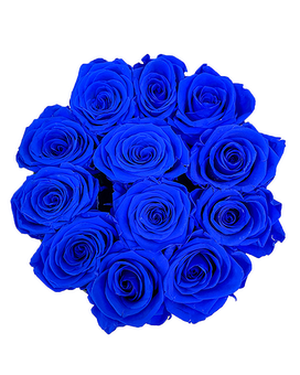 Blue Love (Preserved Roses) Flower Arrangement