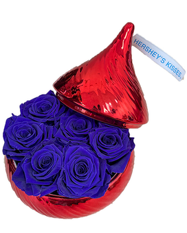 Hershey's Kisses (Preserved Roses) Flower Arrangement