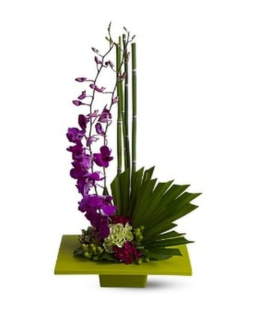 Zen Artistry Flower Arrangement