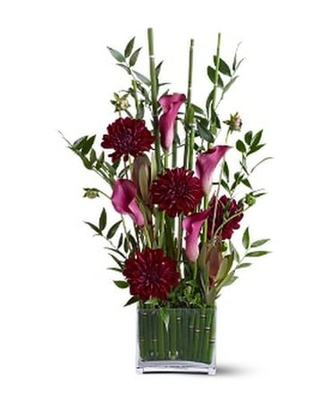 Teleflora's Callas in the Grass Flower Arrangement