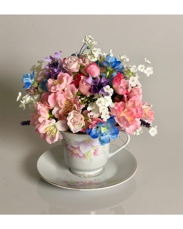 Teacup  Artificial Arrangement