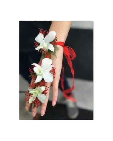 FJ-01 Bracelet & Ring - Fresh Floral Jewelry