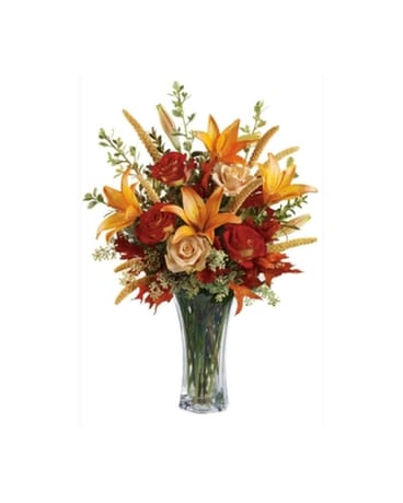 Thoughts of Fall Flower Arrangement