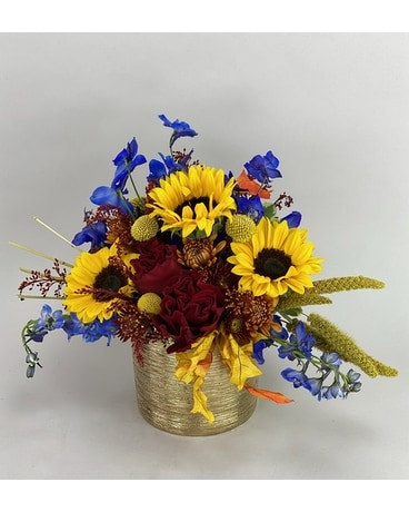 Belle of the Fall Flower Arrangement