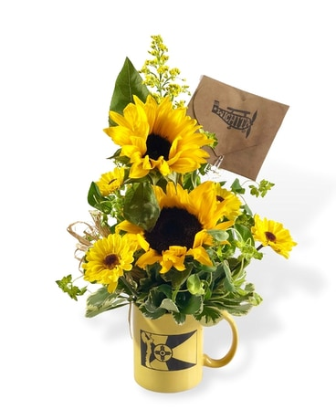 ICT Keeper Mug Flower Arrangement