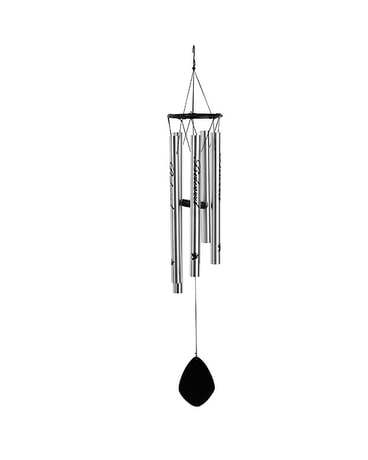 Beloved Sympathy Wind Chime with Stand Flower Arrangement