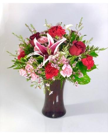 Heartbeat Flower Arrangement