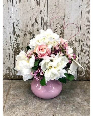 Romance Artificial Arrangement Flower Arrangement