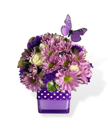 Purplicious Flower Arrangement