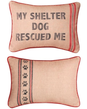 My Shelter Dog Pillow Gifts