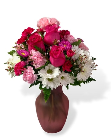 Pinky Flower Arrangement