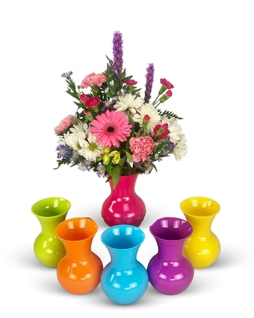 Popsicle Flower Arrangement