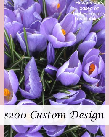 Custom Designed Bouquet $200