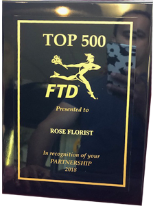 FTD Top 500 Florists
