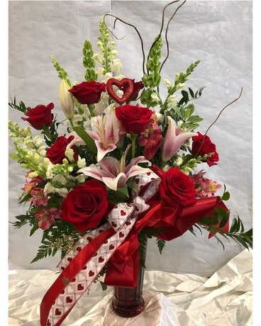 Valentine Princess Flower Arrangement