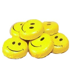 Smiley Face Chocolates