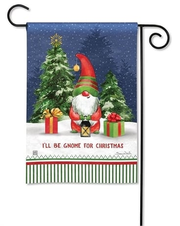 Gnome for Christmas Garden Flag Gifts