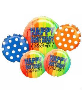 Celebrate Birthday Balloon Bouquet