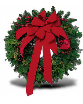 Classic Christmas Wreath Wreath