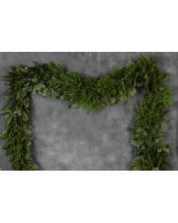 Christmas Garland Flower Arrangement