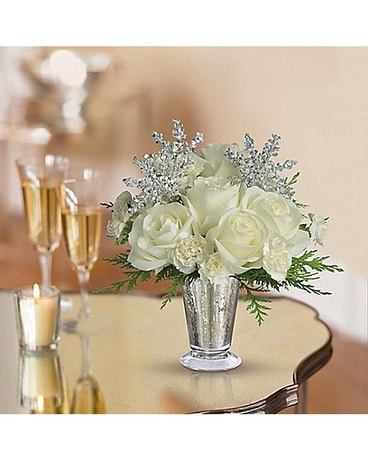 Teleflora's Winter Glow Flower Arrangement