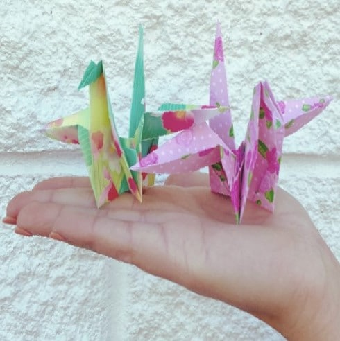Origami Crane For Aspen's Cancer Battle