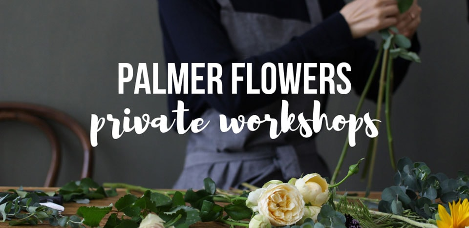 Private Floral Workshops by Palmer Flowers