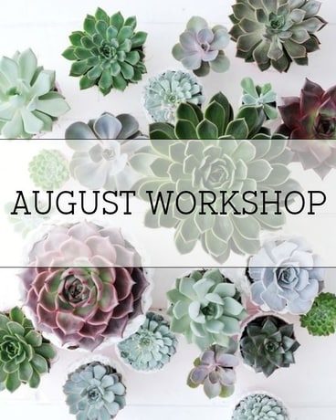 August Workshop in Ft. Collins CO, Palmer Flowers