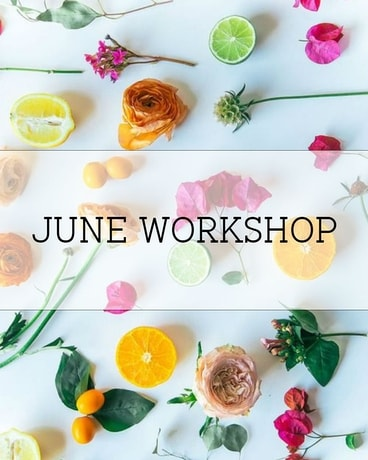 June Workshop in Ft. Collins CO, Palmer Flowers