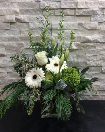 Winter Solstice Flower Arrangement