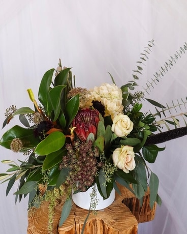 Hippie Chic Flower Arrangement