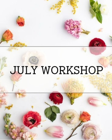 July Workshop in Ft. Collins CO, Palmer Flowers