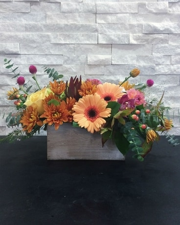 Spiced Brandy Flower Arrangement