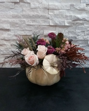 White Zinfandel Flower Arrangement