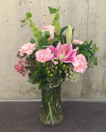 Gamma Phi Beta Love Flower Arrangement