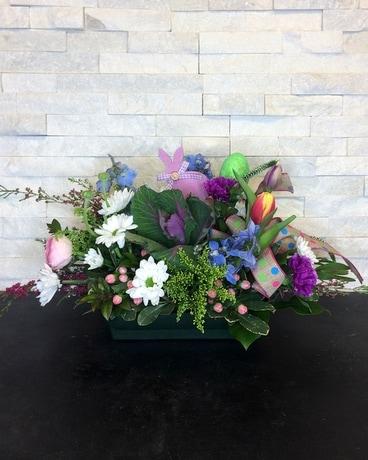Hey There Hop Stuff Flower Arrangement